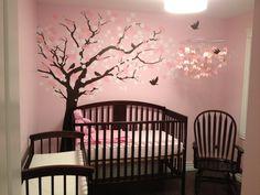 My baby girl's nursery. I'm very proud of myself :)