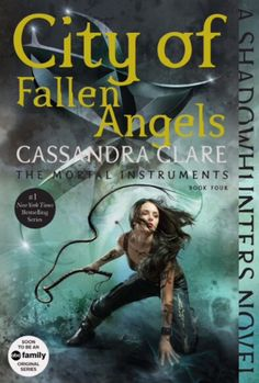 Izzy Lightwood looking badass with her whip on the new City of Fallen Angels cover! (TMI)