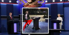 Viewers Notice Something Eerie About Hillary's Debate Podium Last Night