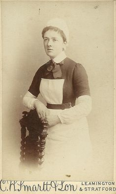 Unidentified Nurse Leamington or Stratford | Flickr - Photo Sharing!