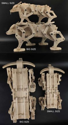 Wooden Model Kits, Wood Projects That Sell, Wood Toys Plans, Kids Wood, Weekend Projects, Scroll Saw, Handmade Wooden, Packing Boxes, Pet Toys