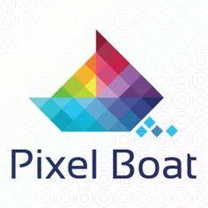 Pixel+Boat+logo