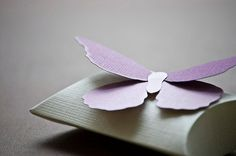 Paper Butterfly Wedding Favor Box/ Party Favor Box by Pierrepont, $1.25