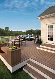 Trex Composite Decking. - traditional - patio - baltimore - American Deck and Patio