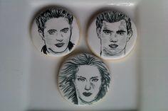 Twilight Breaking Dawn cookie portraits www.cakethatbakery.com
