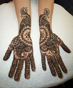 C's bridal mehndi by kenzilicious, via Flickr
