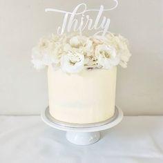 Reposting @the_cookiedoughco: Caramel mud cake for the beautiful Mel's 30th Birthday 💕  #cake #cakeoftheday #cakesbae #desserttable #followme #sweets #babyshower #engagement #bridal #styling #yum #food #foodporn #cakeporm #undiscoveredbaker #nakedcake #wedding #christening #kitchentea #candybuffet #like #birthday