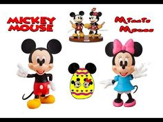 Disney Toys Mickey Minnie Mouse Chocolate Surprise Eggs | Fun Craft & Games Playtime BabyToonz