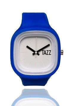 Royal Blueness (white face) - TAZZ Transformer Watch .. Interchangeable watches . Buy one today for $35 at TAZZwatches.com #whatsyourcolor