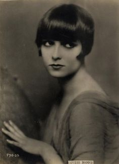 """Louise Brooks, Nov.14,1906 - Aug.8,1985. (A Dancer & Actress. """"Diary Of A Lost Girl""""). Heart Attack"""