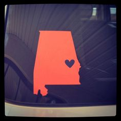 Auburn State of Alabama Car Decal by CamdenCourt on Etsy https://www.etsy.com/listing/159628954/auburn-state-of-alabama-car-decal