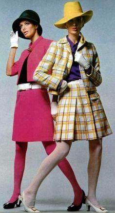 Models wearing Christian Dior, 1967.