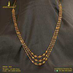 Jewellery Online Hyderabad because Jewellery On Online under Jewellery Kuwait. Gold Necklace With Price And Weight Tanishq Gold Jewelry Simple, Gold Rings Jewelry, Gold Jewellery, Gold Earrings, Gold Necklaces, Small Earrings, Beaded Jewelry, Gold Chain Design, Gold Bangles Design