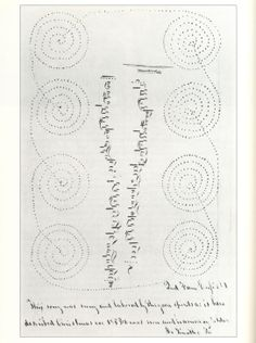 From Heavenly Visions: Shaker Gift Drawings and Gift Songs, drawing of visionary dance