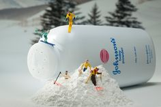 Baby Powder Skiers - February 2013 Print of the Month