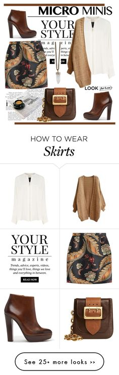 """""""Micro Mini Skirts"""" by spenderellastyle on Polyvore featuring Pussycat, Libertine, Derek Lam, Dsquared2, Burberry, Givenchy and microminis"""