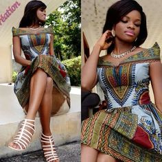 Daishiki style ~Latest African Fashion, African Prints, African fashion styles…