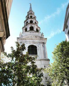 St. Bride's Church a.k.a. the Wedding Cake Church  #weddingcakechurch #london #uk #lovelondonuk by hwangchinren
