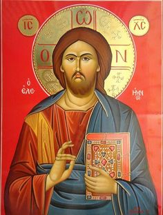 Byzantine Icons, Byzantine Art, Religious Icons, Religious Art, Christ Pantocrator, Roman Church, Images Of Christ, Catholic Crafts, Sign Of The Cross