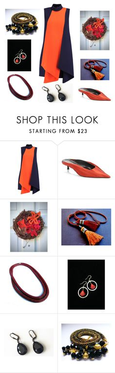 """Fall"" by artistinjewelry ❤ liked on Polyvore featuring Victoria, Victoria Beckham and Balenciaga"