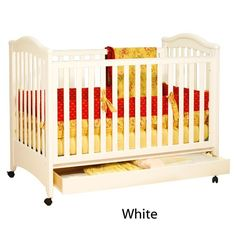 $219.95-$382.10 Baby AFG Baby Furniture 611W Athena Jeanie Crib with drawer in White, - The Jeanie Classic Crib is made of solid hardwood, making it perfectly sturdy yet easily maneuverable. It has a drawer conveniently located below the crib that glides easily over metal runners. It comes with a 4 Level mattress support, as well as wheels s http://www.amazon.com/dp/B002P3D78M/?tag=pin2baby-20