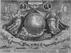 Giovanni Stradano, Frontispiece for the Americae Retectio series, late  1580s. Engraving.