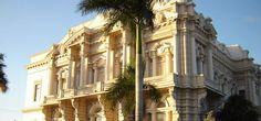 Palacio Cantón en Paseo de Montejo que alberca el Museo del INAH