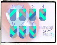 Sunday Nail Battle: Fishtail braid nails | Nailderella