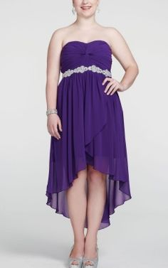 High-low Bridesmaid Dresses | Asymmetrical Hemline