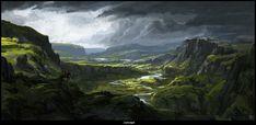 ArtStation - Highlands, Alexander Pohl