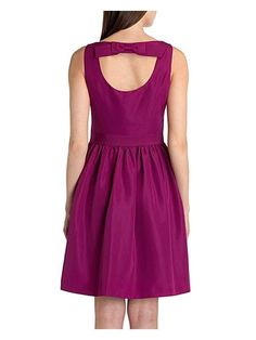 Buy Ted Baker Julette Bow Detail Dress, Fuchsia from our Women's Dresses Offers range at John Lewis & Partners. Fall Bridesmaid Dresses, Fall Dresses, Evening Dresses, Casual Dresses, Fashion Dresses, Dresses For Work, Prom Dresses, Fuchsia Dress, Clothes For Sale