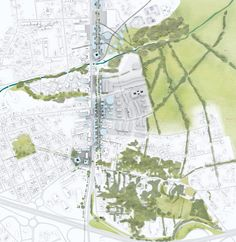 OMA to Masterplan Southern Neighborhood of Bordeaux,Courtesy of OMA