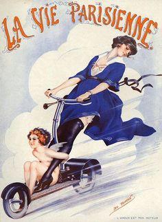 La Vie Parisienne L Amour Est Mon Moteur