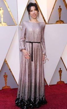 Sally Hawkins from 2018 Oscars Red Carpet Fashion  #Oscars2018 #Oscars