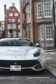 Ferrari F12 Berlinetta ... All I need is this car and a windy road with no speed limit =)