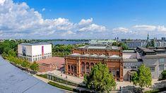 Kunsthalle und Galerie der Gegenwart liegen im Herzen Hamburgs, doch der vielspurige Ring 1 trennt die Häuser von der Alster.