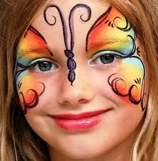 pin by lynn drago taylor on face painting pinterest - Halloween Face Paint Ideas For Children