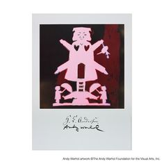 H.C. Andersen: The Sandman by Warhol. If only I had 190€...