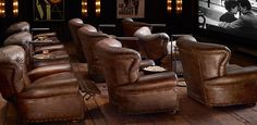 Recliners & Swivels | Restoration Hardware This would be a great movie room