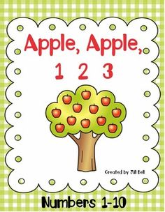 This apple themed math product focuses on the Numbers 1-10. It includes  3 math center activities, an Apple Counting Booklet, and worksheets.