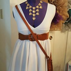 Adorable babydoll dress/shirt Dress is so much fun, very girly and adorable. Stretch fabric size small, 24 inches from waist. Will only fit very small bust sizes. Made by me. New never worn. Ask any questions before purchasing. This is not a sample piece its priced accordingly. No swap Offers welcome Bundles..yes Fashion Addict Dresses Midi