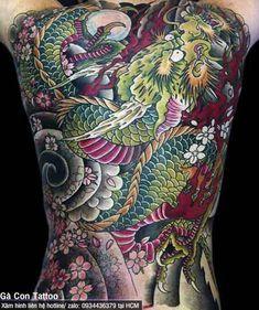 Japanese Back Tattoo, Japanese Tattoo Artist, Japanese Tattoos For Men, Japanese Tattoo Designs, Full Back Tattoos, Back Tattoos For Guys, Full Body Tattoo, Dragon Tattoo Pictures, Picture Tattoos