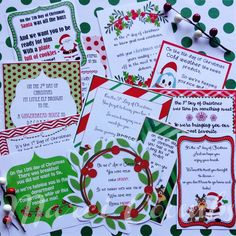 Do a 12 DAYS OF CHRISTMAS for your child's classroom teachers! You'll be the talk of the break room!