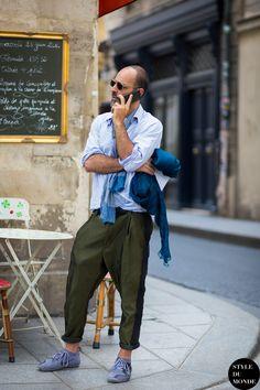 4676333ea43 Paris Men s Fashion Week Spring 2015 Street Style  Before Haider Ackermann