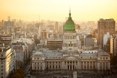 Aerial View of Buenos Aires Argentina with Palacio Del Congreso Wanderlust Travel, Us Travel, Canada Holiday, Great Walks, Group Tours, Experiential, Aerial View, Dream Vacations, Where To Go