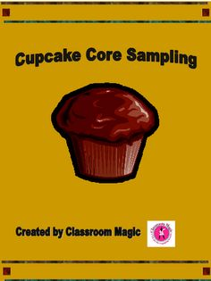 FREEBIE! Perfect for Earth Science: Cupcake Core Sampling.