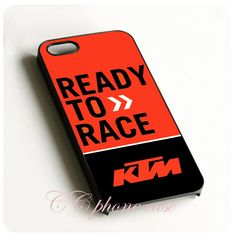 ktm racing logo ready to race Black Hard Skin mobile phone Cases Cover housing For iPhone 6 6 plus 5 5s 5c 4 4s Free shipping(China (Mainland))