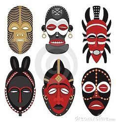African Masks 2 - Download From Over 26 Million High Quality Stock Photos, Images, Vectors. Sign up for FREE today. Image: 10853855