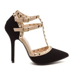 Adorable Brand New Studded Heels