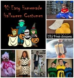 10 Easy Handmade Halloween Costumes Love the crayons!!!